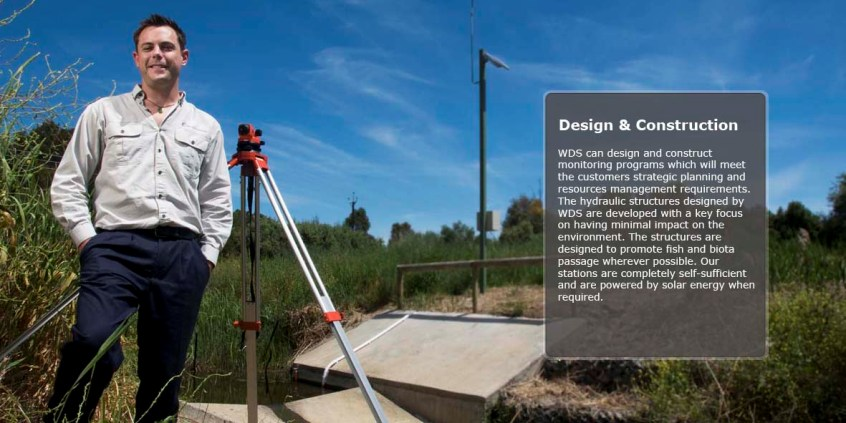 Design and Construction - water monitoring programs