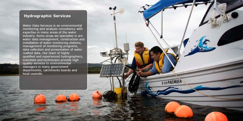 Hydrographic Services - environmental monitoring and analysis